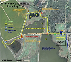 Click to open a map of the wetland trail